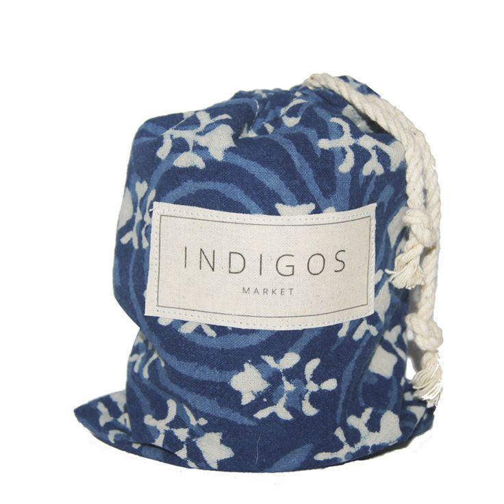 Small Indigo Soy Candle FIELDS - Indigos Market