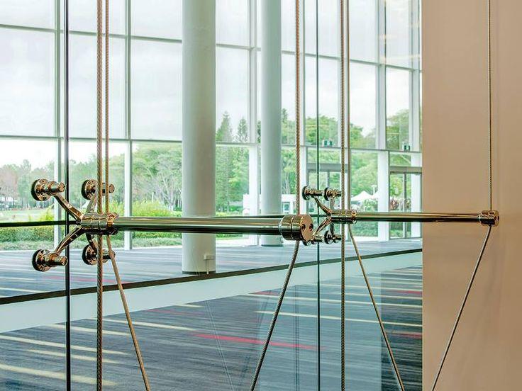 Major redevelopment of the 1500m2 Royal Benowa Ballroom at RACV Royal Pines resort Vertical Cable Truss
