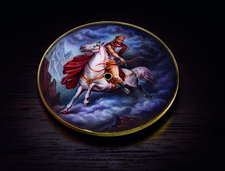 "Ilgiz F for Bovet 1822. Amadeo Fleurier 43 mm ""Riders of Apocalypses"""