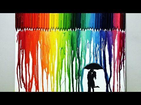 Crayon Art Tutorial! - YouTube