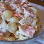 Chicken Bacon Ranch Pasta Salad