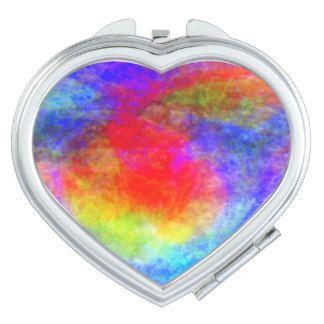 Morning Heart Compact Mirror
