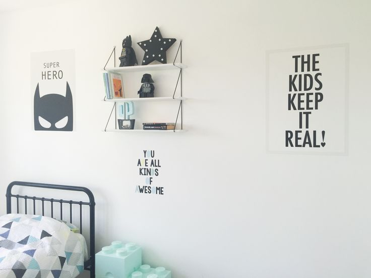 Removable and reusable wall poster stickers. Kids room.