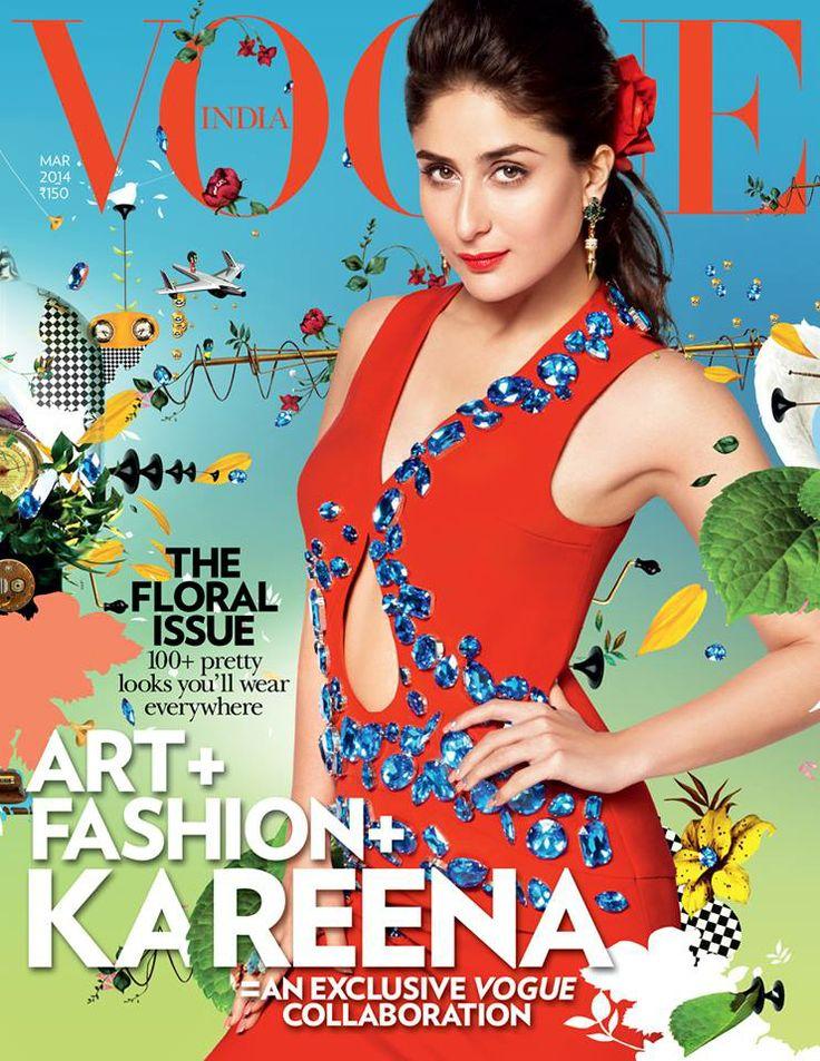 Kareena Kapoor Khan for Vogue #Style #Bollywood #Fashion #Beauty