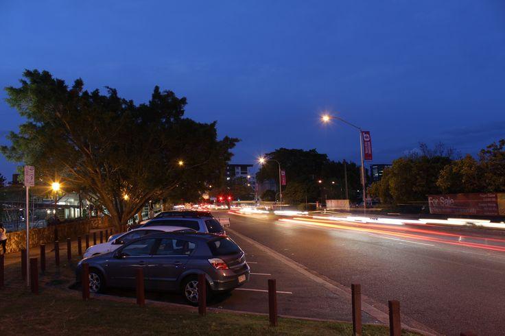 Car light streams