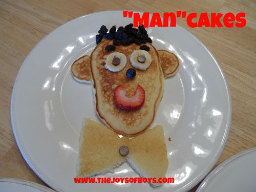 """Man""Cakes - The Perfect Father's Day Breakfast - The Joys of Boys"