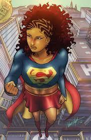 Resultado de imagem para black superwoman