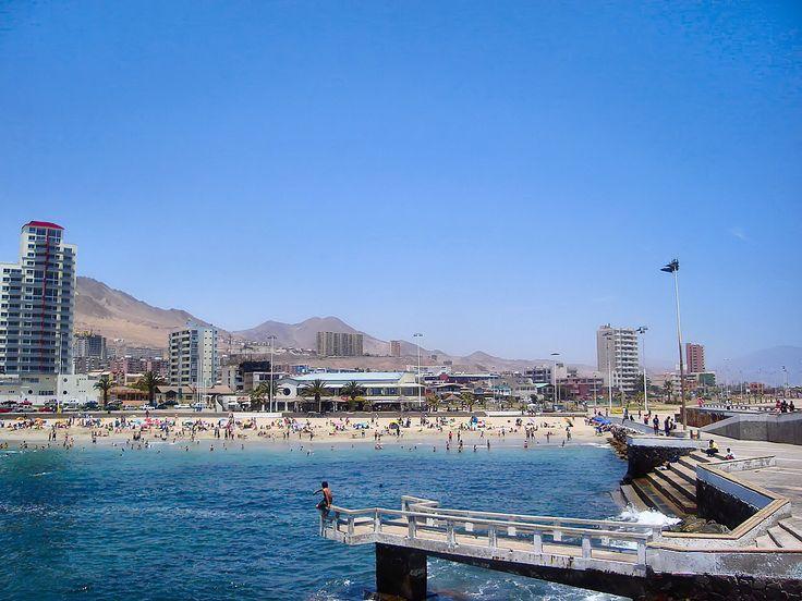Balneario de Antofagasta.(Chile)