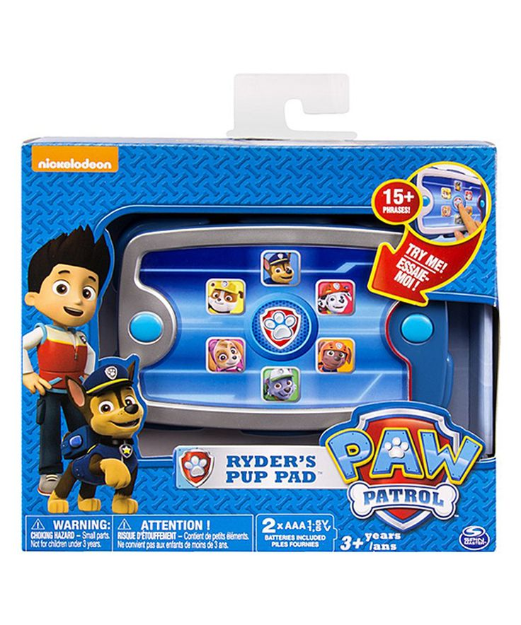 This PAW Patrol Ryder's Pup Pad by PAW Patrol is perfect! #zulilyfinds