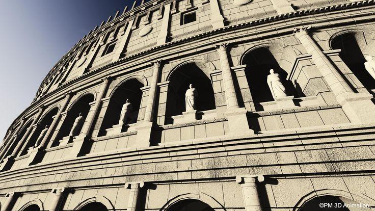 Le colis e colosseum en latin est un projet for Architecture celebre