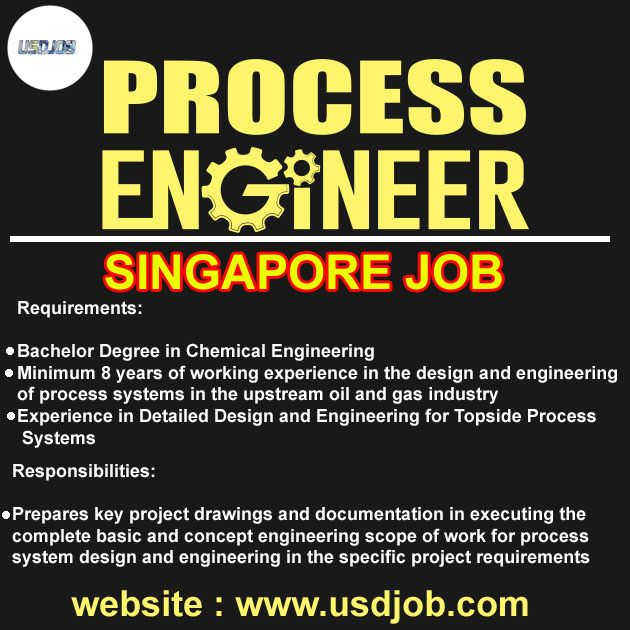 Process Engineer Jobs In Singapore Jobs in Singapore Process