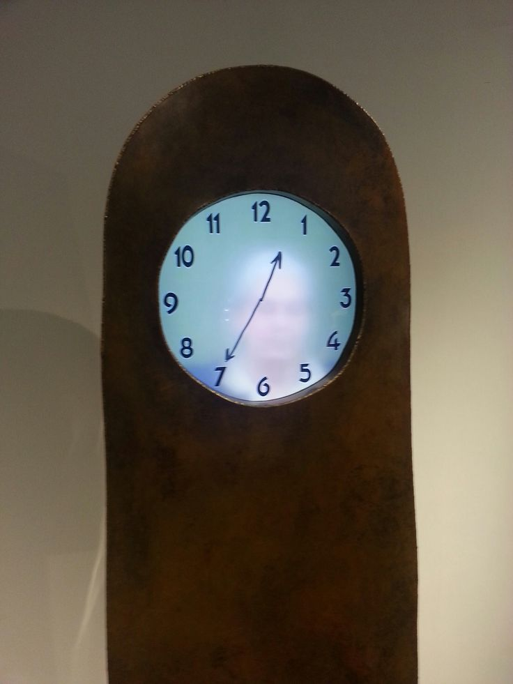 Maarten Baas - detail of grandfather clock, 2013