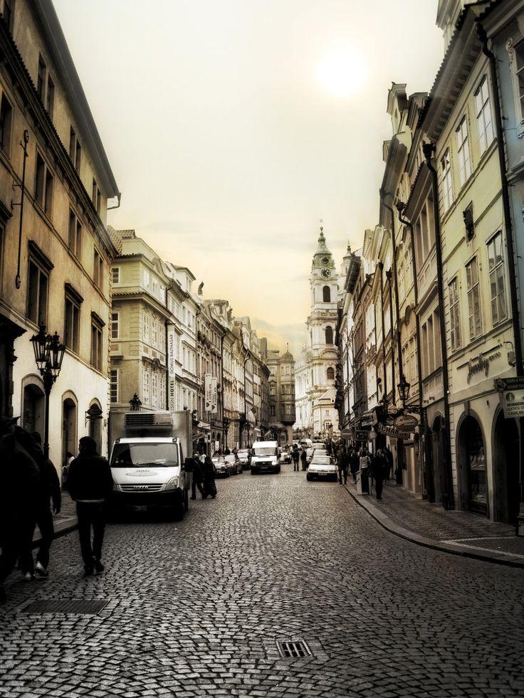 Streets of Prague by Dellboyy.deviantart.com on @DeviantArt