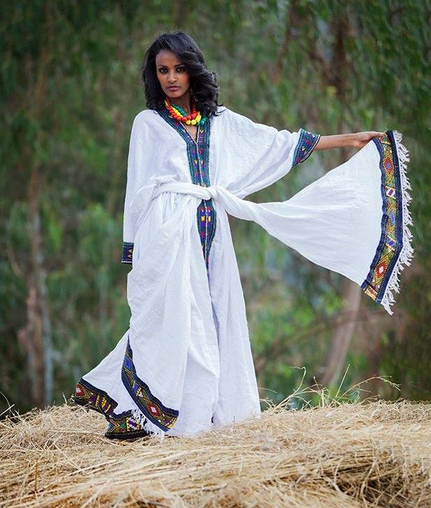 hezbe le hezeb! | Ethiopian traditional clothes | Pinterest Traditional African Fashion Headdress