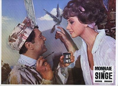 SYLVA KOSCINA ROBERT HIRSCH MONNAIE DE SINGE 1966