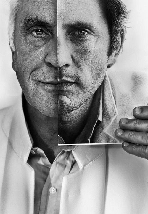 Terence Stamp || handsome at any age