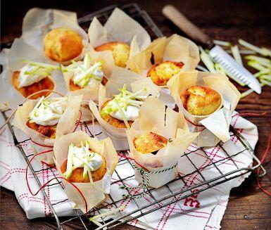 Recept: Cupcakes med kardemumma och vanilj