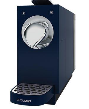 Delizio Una Automatic Midnight Blue Kaffeemaschine #Kaffee #Espresso #Tee #Blau #Haushalt #Galaxus