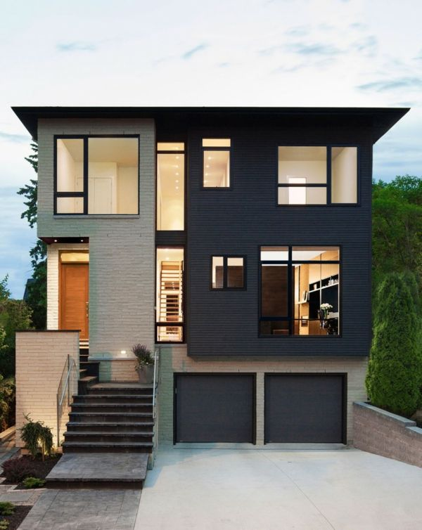 die besten 25 graue fassade ideen auf pinterest wei e fassade h user hausfassade grau und. Black Bedroom Furniture Sets. Home Design Ideas