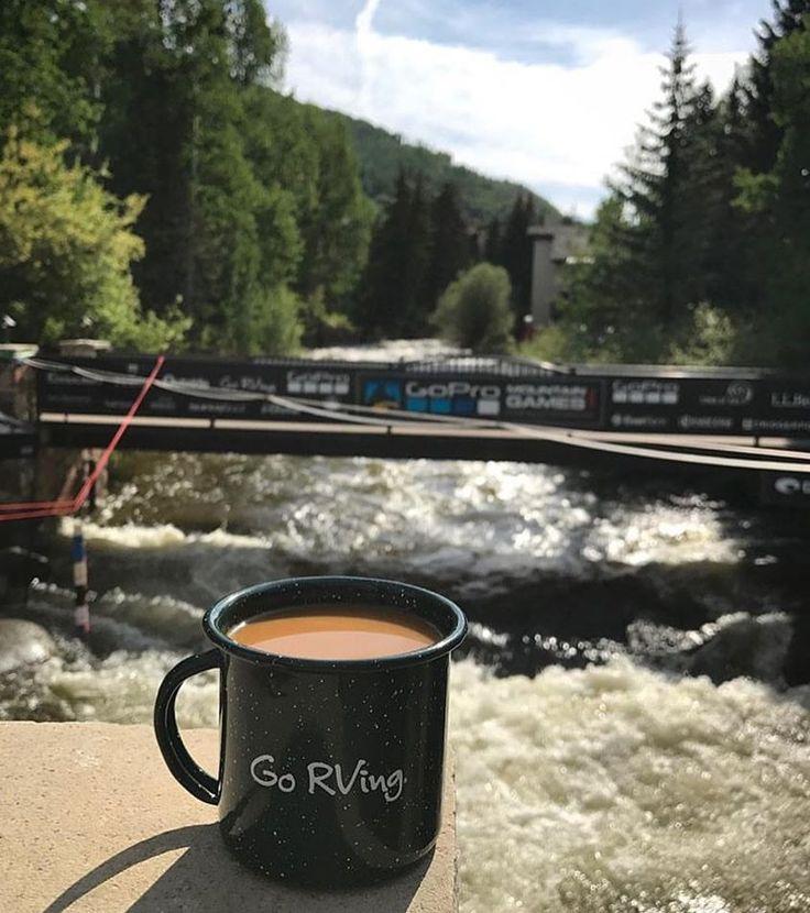 Happy Monday! Pic via @gorving. ☕️ #coffee #campcoffee #rvlife #rvgems #gorving #homeiswhereyouparkit #rvliving #motorhome #glamping #wanderlust #fulltimerv #outdoors #nature #travelusa #wandering #wander #nomad #boondocking #roadtrip #gypsy #rvlifestyle