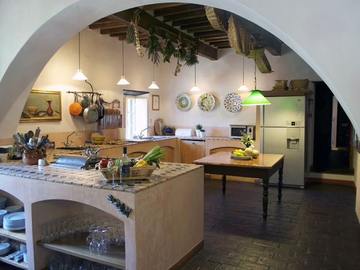 A Classic Italian Kitchen With All The Modern Amenities