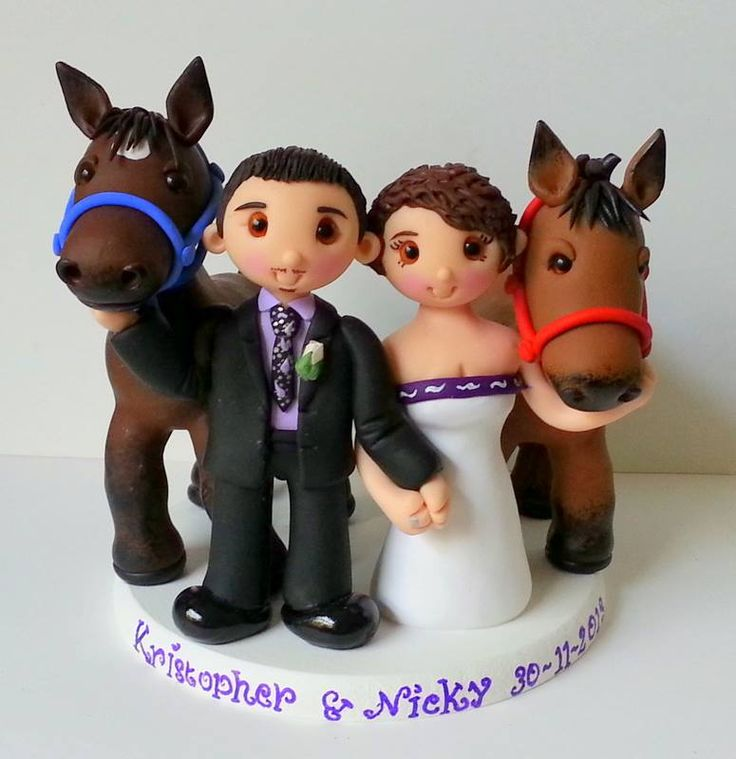 horse wedding cake toppers uk wedding cake topper with horses by tinylove toppers http 15328
