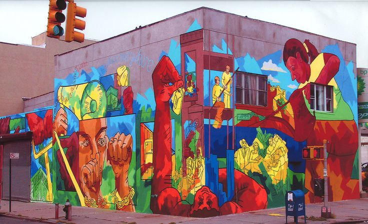 51 best images about community mural urban garden on for Community mural project