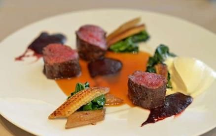 """Club Gascon specialises in imaginative cuisine from the South West of France. Club Gascon takes their food and produce from Gascony very seriously and the food is monitored by """"Le Comité Renaissance"""" who have a commitment to maintaining the highest standards of freshness and authenticity #ClubGascon #French #Finedining"""