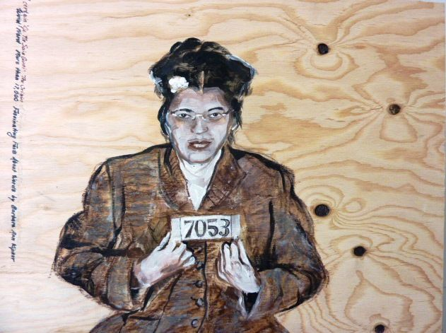Rosa Parks by Kathleen Moors ©