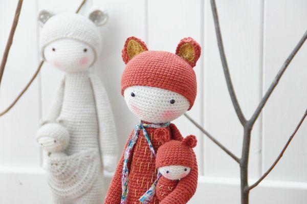 Amigurumi Doll Furniture : 1000+ images about Dolls on Pinterest Amigurumi doll ...