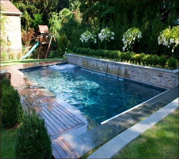 Image Result For Small L Shaped Pool Designs Small Backyard