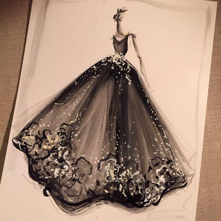 25+ Best Ideas About Dress Design Sketches On Pinterest