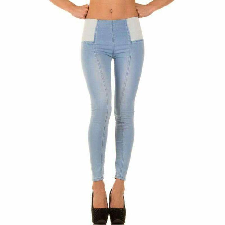 #Pantalon #tejano de #cintura #alta sin #cremallera con #efecto #leggins o #pitillos, #tejido de #vaquero #elastico que #destaca tus #curvas y #toque #desgastado con #costura #lineal #vertical que #estiliza tu #figura para #complementar tu #look #diario y todas tus #prendas de #vestir. Encuentralo en #Tejanos y #Vaqueros de @agiltienda.es #online #shop http://www.agiltienda.com/es/home/2222-pantalon-cintura-alta-dise%C3%B1o-leggins-8400222288064.html