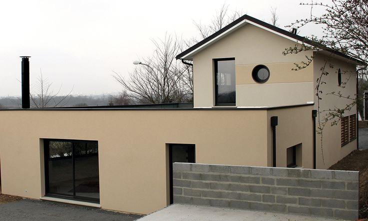 Vesqual Construction - Maison contemporaine Constructeur conception immobilier maison design artisans qualité garanties assurances - Caen