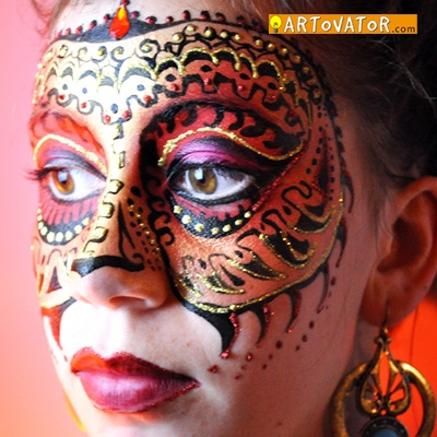 13 best face painting images on pinterest face paintings for Face painting rates