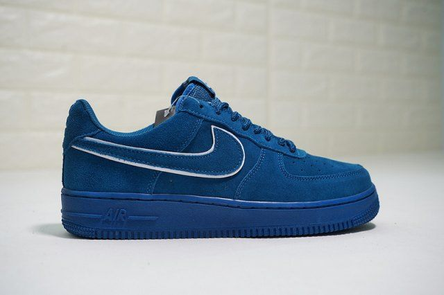 365ce00e92d Mens Womens Shoes Nike Air Force 1 07 LV8 Suede Noise Aqua Blue Force  Summit White AA1117 400