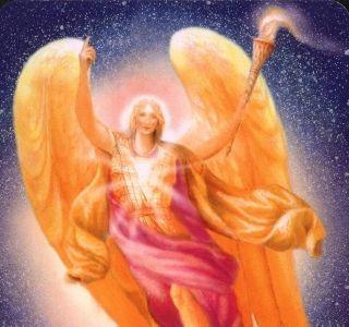 """Aartsengel Raguel Raguel De naam Raguel betekent: """"Vriend van God"""". De hoofdtaak van Raguel is om ervoor te zorgen dat alle andere aartsengelen samenwerken op een harmonieuze en ordelijke manier. Want alleen zo kan de Goddelijke wil uitgevoerd worden. Raguel neemt het op voor mensen die zich niet begrepen voelen of miskend worden.  Hij zorgt ervoor dat ze zich krachtiger gaan voelen en meer (zelf)respect krijgen"""