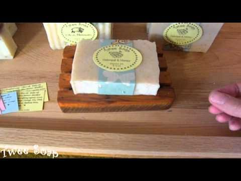 Labelling handmade Soap - YouTube