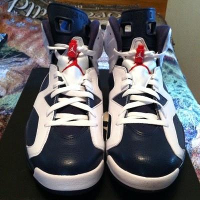 Air Jordan Retro Olympic 6 Vi Mens