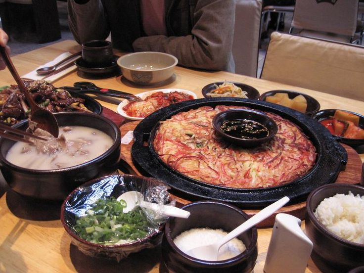 Mmmm Mmmm Mmm!  Korean food! Not only is is good for you, it is delicious!!!  The food is one of the many things that I miss about Korea!