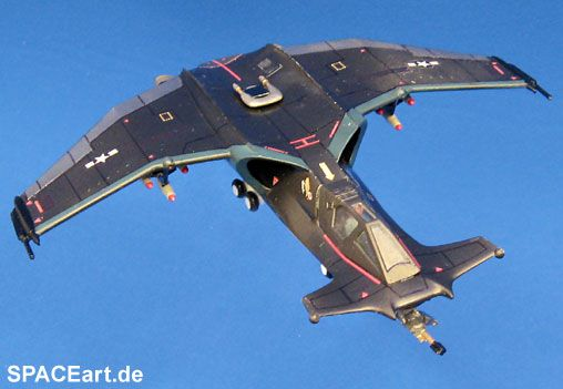Space 2063: SA-43 Hammerhead Fighter ... http://spaceart.de/produkte/sab001.php