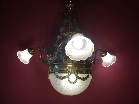 Kronleuchter Lampe ~ Moderne gold transparent kristall leuchter kronleuchter lampe mit