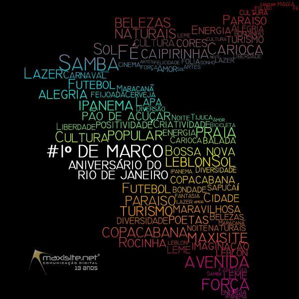 Aniversário do Rio de Janeiro - Maxisite Comunicação