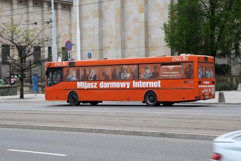 Darmowy Internet w autobusach. Ktos juz jechal?