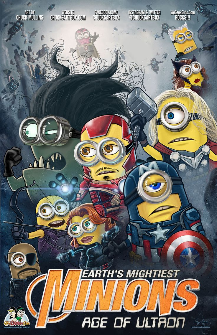 @heavenspn Avengers Minions!  |#superheroes