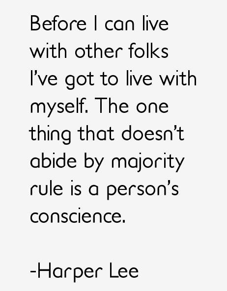 Self Acceptance - Harper Lee