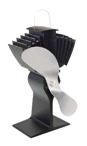 VENTILATEUR+ECOFAN+:+Ventilateur+de+poêle+Ecofan+automoteur:+il+produit+sa+propre+énergie.+Améliore+la+circulation+d'air+chaud,+augmentant+ainsi+l'efficacité+du+poêle.+La+vitesse+du+ventilateur+varie+automatiquement+selon+la+température.+Ultra-silencieux.+Ventilateur+en+aluminium+anodisé+refoulé.+Ne+rouillera+et+ne+corrodera+pas.+La+bande+bi-métallique+du+socle+empêche+le+ventilateur+de+surchauffer.+Fait+circuler+jusqu'à+175+PCM+par+minute+sans+électricité.+Hélice+à+2+pales.