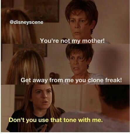 #freaky #friday #movie #quotes #classic #lindsay #lohan