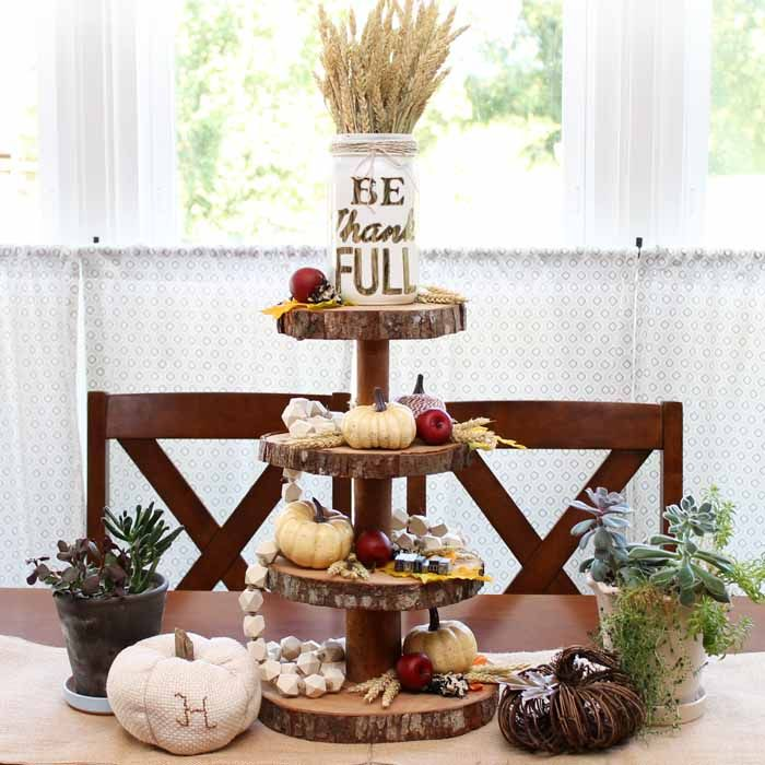 1427 best fall thanksgiving decorating images on pinterest for 3 tier pumpkin decoration