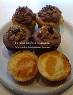 Kerstins Kuchen Kreationen: Bananenmuffins mit Nussnougatfüllung